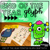 End of the Year Reflection: Monster Glyph Craftivity