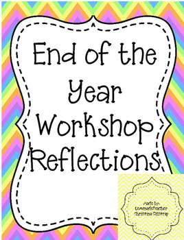 End of the Year Reflections