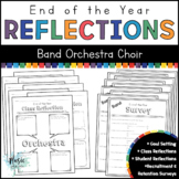 End of the Year Reflections for Band, Orchestra, and Choir