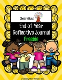 End of the Year Reflective Journal Literacy Activity