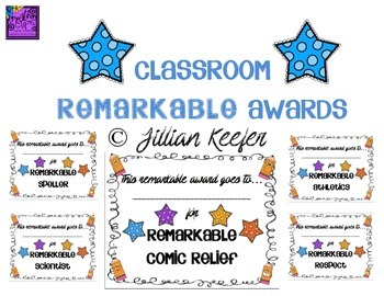 End of the Year Remarkable Awards