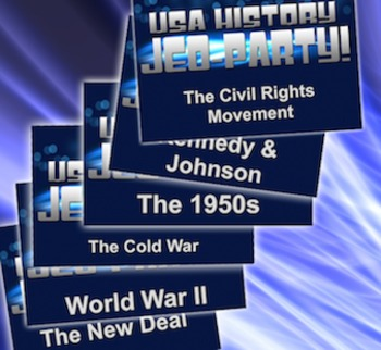 End of the Year Review Bundle - 6 U.S. History Units - U.S