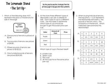 End of the Year Review Unit {Ratios, Rates, & Inequalities Emphasis}