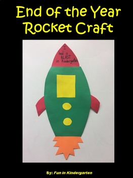 End of the Year Rocket Craft