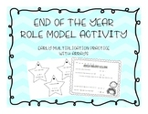 End of the Year Role model Activity