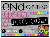End of the Year SCOOT Cards