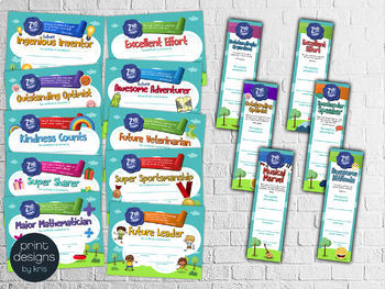 End of the Year SECOND GRADE Student Superlative Awards BUNDLE