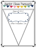 End of the Year SENIOR CLASS PENNANTS & Autograph Pages