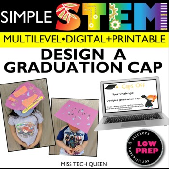 End of the Year STEM Challenge - Caps Off