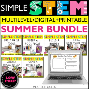 STEM Challenge Bundle - Summer theme