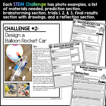 End of the Year STEM Activities
