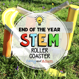 Build a Roller Coaster STEM Activity End of the Year STEM