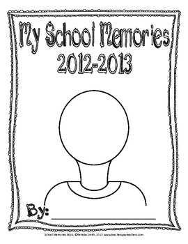 End of the Year School Memories Book