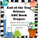 End of the Year Science ABC Book Project