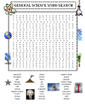 End of the Year Science Facts for Kids PLUS General Science Word Search Puzzle