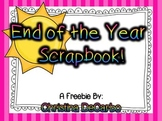 End of the Year Scrapbook {Freebie}