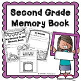 End of the Year Second Grade Memory Book