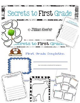 End of the Year: Secrets to First Grade Activity Book