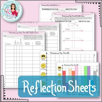 End-of-the-Year Self-Reflection with Task Cards + Differentiated Responses