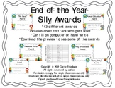 """End of the Year """"Silly"""" Awards"""