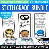 End of the Year Activity Sixth Grade Bundle