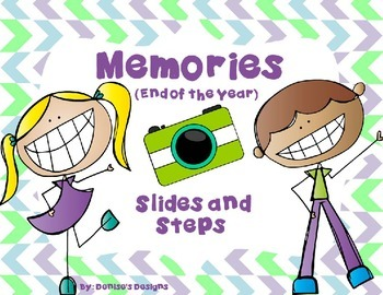 End of the Year - Slides and Steps Game