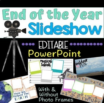End of the Year Slideshow Template