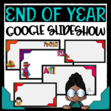 End of the Year Slideshow in Google Slides™ - without Words