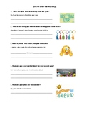 End of the Year Social Skills Activity