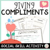 End of the Year Social Skills Activity Compliment Circle w