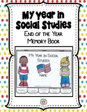 End of the Year Social Studies Activity - Memory Book