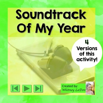End of the Year: Soundtrack Of My Year Activities