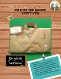 "End of the Year Craftivity ""Souvenir"" English Version"