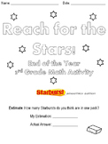 End of the Year Starburst Math Review! (CCSS Aligned - Culminating 3rd Grade)