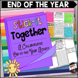 End of the Year Stick-It-Together
