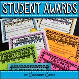 End of the Year Student Awards-EDITABLE!