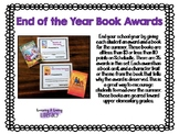 End of the Year Student Awards- Book Edition