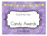 End of the Year Student Candy Awards