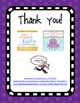 End of the Year Student Gift - Junie B. Jones Book Note
