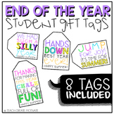 End of the Year Student Gift Tags!
