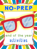 NO PREP End of the Year Packet
