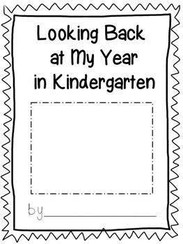End of the Year Student Reflection & Goal Setting Writing Book