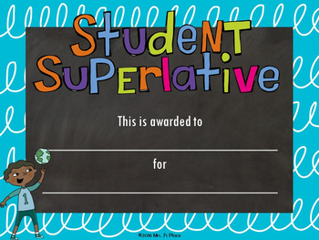 End-of-the-Year Student Superlatives