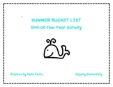 End of the Year Summer Bucket List