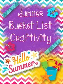 End of the Year: Summer Bucket List Craftivity