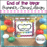 End of the Year Summer Countdown FREEBIE