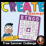 End of the Year Summer Create Activity
