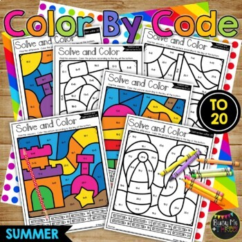 End of the Year Summer Fun BUNDLE Worksheets, Bingo, Color Sheets