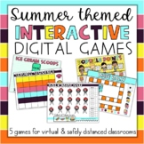 End of the Year Summer May June Interactive Games ANY subj