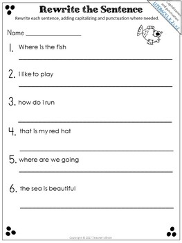 End of the Year Summer Packet For KINDERGARTEN to 1st Grade Review